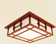 -Ceiling Light Plafonnier de style japonais, lampe