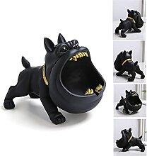 Cendrier, cendrier en forme de chien de dessin