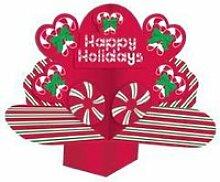 Centre de table Noël Happy Holidays