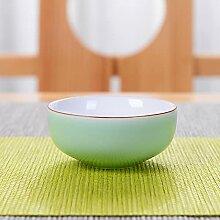 Céramique blanche tasse de thé théière