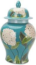Céramique Général JAR Porcelaine Temple Jar,