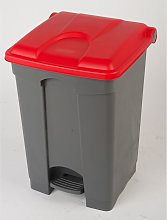 Certeo - Collecteur de déchets à pédale, en