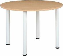 Certeo - Table de conférence avec pieds