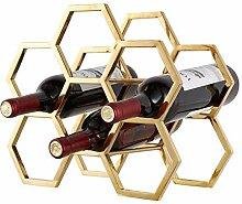 CESULIS Casier à vin pour 6 bouteilles –