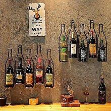 CESULIS Étagère à vin simple et créative en