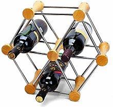 CESULIS QuRong Étagère à vin empilable et