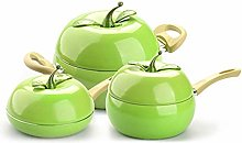 CFGTJ Batterie de cuisine Fruits Poêle à lait
