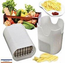Cflagrant® Coupe Frite/Legumes Manuel Génial -