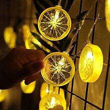 CFLFDC Guirlande Lumineuse Chaîne De Corde De La