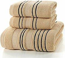 CFSNCM Ensemble de serviettes de bain en coton