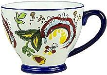 CGDX Tasse à café en porcelaine Grande tasse à