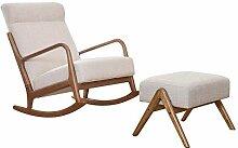 Chaise à bascule, confortable Relax Nordic Balcon