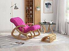 Chaise à bascule, confortable relax nordique