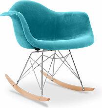 Chaise à bascule Rarwick Style Scandinave Premium