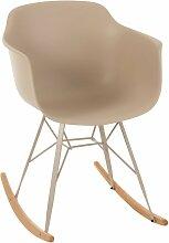 Chaise à bascule style scandinave