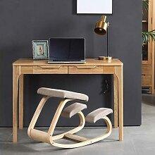 Chaise à genoux ergonomique en bois, tabouret
