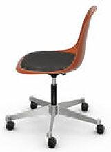 Chaise à roulettes PSCC - Eames Plastic Side
