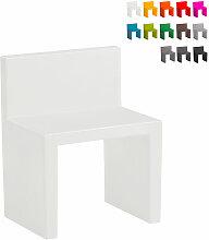Chaise au design moderne Slide Angolo Retto pour