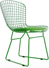 Chaise Bertoia Wire Side - Vert