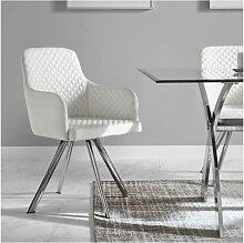 Chaise confortable ZENDART SELECTION - Blanc -