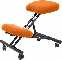 Chaise de bali Mahora orange