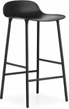 Chaise de bar avec structure en métal - 65 cm -
