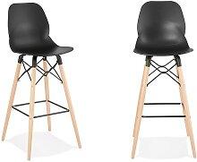 Chaise de bar style scandinave - Marco