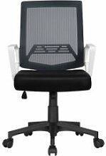 Chaise de bureau à roulettes maille mesh