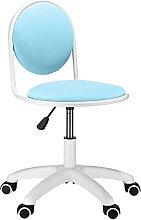 Chaise de bureau avec roulettes, chaise