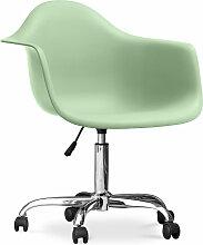 Chaise de bureau Darrwick Scandinave Style Premium