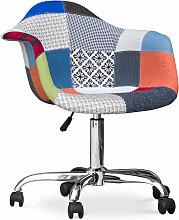 Chaise de bureau Darwick - Patchwork Pixi