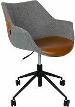 Chaise de bureau Doulton Vintage Brown