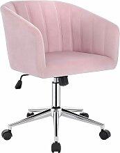 Chaise de Bureau en velours Fauteuil de Bureau