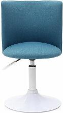 Chaise de bureau enfant NEW MARCHANDE - Bleu canard