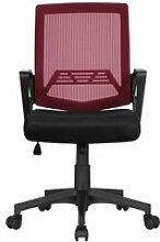 Chaise de bureau ergonomique maille fauteuil