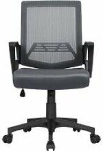 Chaise de bureau ergonomique pivotante