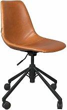 Chaise de bureau Franky marron