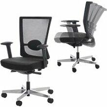 Chaise de bureau merryfair forte, fauteuil de