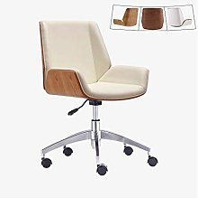 Chaise de bureau moderne au milieu du siècle avec
