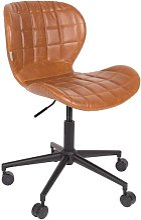 Chaise de bureau Omg Li Marron