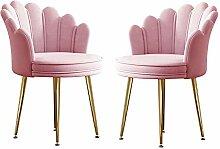 Chaise De Bureau Rose Lot De 2, Tabouret De
