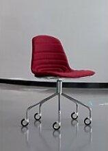 Chaise de bureau sur roulettes epok