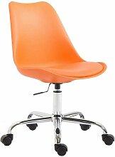 Chaise de bureau tabouret à roulette hauteur
