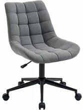 Chaise de bureau TALIA, fauteuil pivotant sans