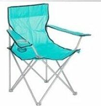 Chaise de camping  - clivia - 81 x 51 x 84 cm -