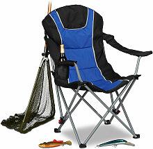 Chaise de camping pliable fauteuil de pêche
