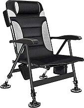 Chaise de camping pliable, siège confortable