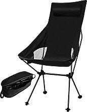 Chaise de camping pliante, chaise de camping au