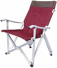 Chaise de Camping Pliante légère Pliable pour