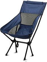 Chaise de camping pliante pliante légère et